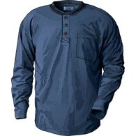 Men's Longtail T Long Sleeve Henley T-Shirt NAVY M