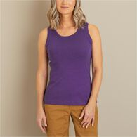 Women's Longtail T Tank Top BLACK MED