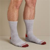 Men's Free Range Cotton 3-Pack LW Crew Socks WHITE