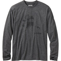 Men's AKHG TunDry Long Sleeve State Logo Tee