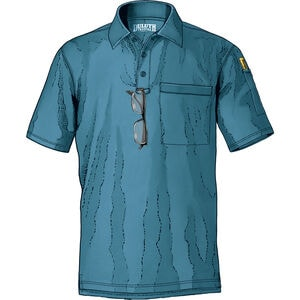 Men's Knuckledown Short Sleeve Polo with Pocket
