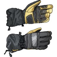 Men's Yellowknife Winter Gauntlet Gloves