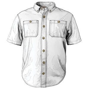 Men's Everyday Short Sleeve Work Shirt