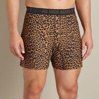 Men's Buck Naked Performance Pattern Boxers CLNTPN