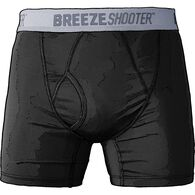 Men's Breezeshooter Short Boxer Briefs BLACK MED