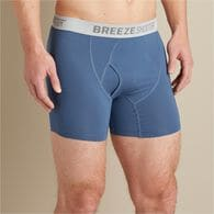 Men's Breezeshooter Short Boxer Briefs PINEGRN SM