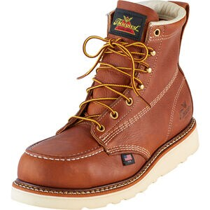 "Men's Thorogood 6"" Steel Toe Moc-Toe Boots"