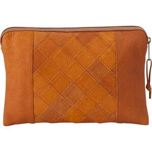 Lifetime Leather Patchwork Pouch