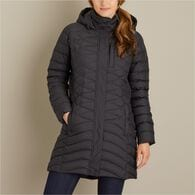 Women's Cold Faithful Down Hooded Parka BLACK XSM
