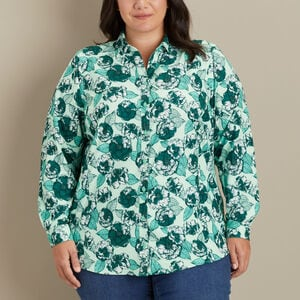 Women's Plus Sidewinder Printed Tunic