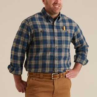 Men's Free Swingin' Trim Fit Flannel Shirt