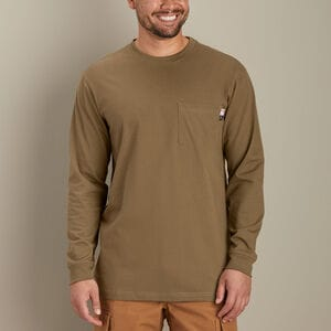 Men's Flame-Resistant Longtail T Long Sleeve Crew