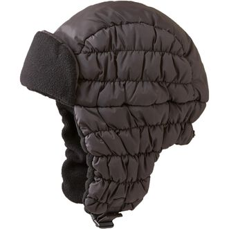 Women's Quilted Trapper Hat COAL MED