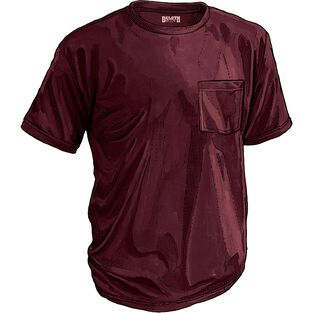 Men's Longtail T Short Sleeve Shirt With Pocket