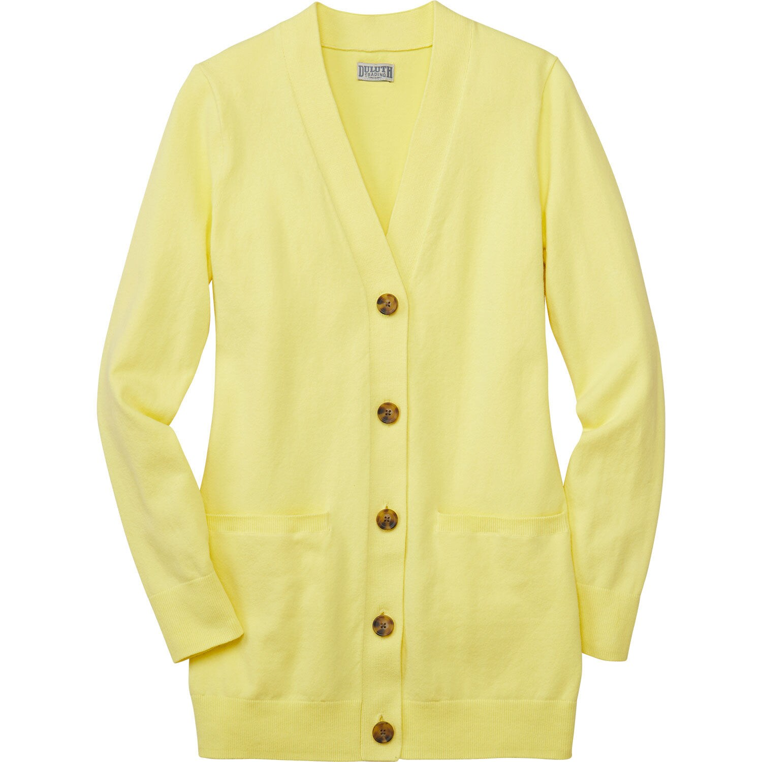 Frieed Women V Neck 3/4 Sleeve Knitted Button Up Cardigan Sweater