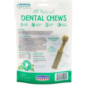 Chewy's All Natural Medium 6-oz. Dental Chews
