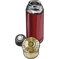 12 Gauge Shotshell Thermo Bottle RED