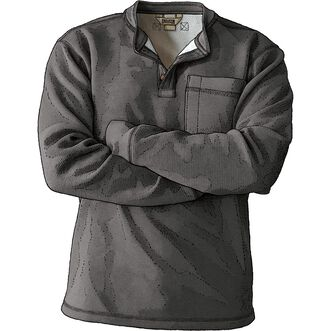 Men's Burly Thermal Sherpa-Lined Henley DGYHTHR 3X