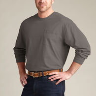 Men's Longtail T Long Sleeve T-Shirt with Pocket D