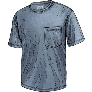 Men's Tri-Brid Stnd Fit Short Sleeve Crew with Pocket