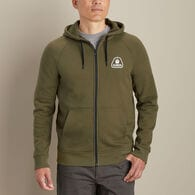 Men's AKHG Crosshaul Cotton Logo Full Zip
