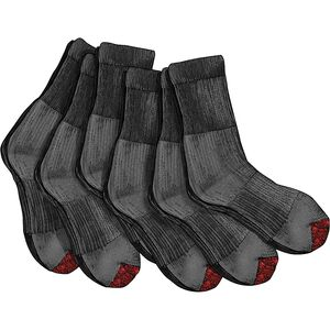 Men's Everyday 6-Pack Midweight Crew Socks
