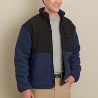 Men's Alaskan Hardgear Bear Hide Fleece Jacket DRK