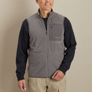 Men's True Grid Fleece Full Zip Vest
