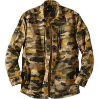 Men's AKHG Stone Run Camo Standard Fit Overshirt
