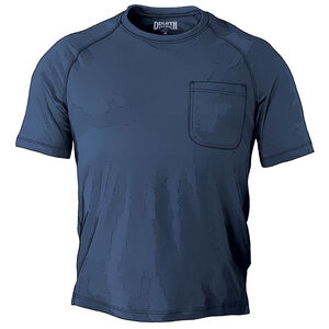 Men's CoolMax Relaxed Fit Short Sleeve Crew with Pocket