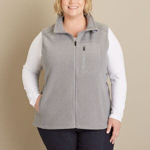 Women's Plus Park Point Fleece Vest