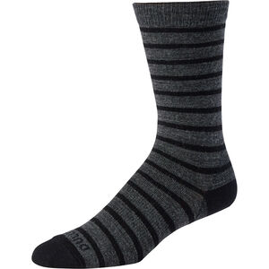 Men's Lightweight Merino Wool Stripe Dress Socks