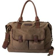 1713859ac2e6 Oil Cloth Weekender Bag DRKBRWN