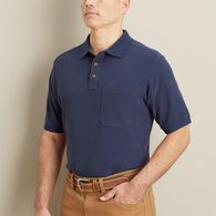71798d593aaa Men s No Polo Short Sleeve Shirt with Pocket COBAL