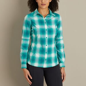 Women's Sidewinder Plaid Gardening Shirt