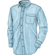 Men's Class Act Solid Slim Fit Long Sleeve Shirt
