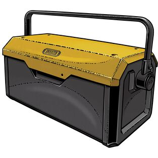 Duluth Trading 21.5 inch Steel Tool Box HRVTGLD