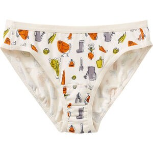 Women's Free Range Organic Cotton Hi-Cut Underwear