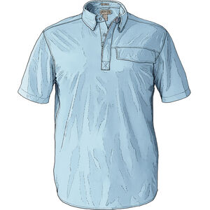 Details about  /Duluth Trading Mens Pressure Cooker Polo With Pocket Size Large