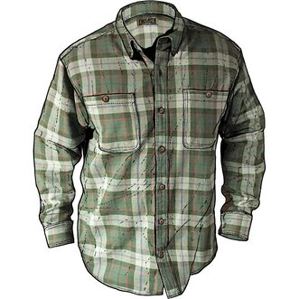 Men's Free Swingin' Flannel Shirt MGEPLAD MED REG