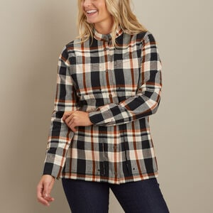 Women's Free Swingin' Flannel Smock