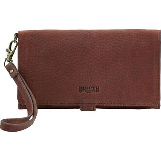 Lifetime Leather Patchwork Wallet BROWN