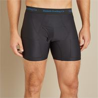 Men's Buck Naked Travel Boxer Briefs BLACK MED