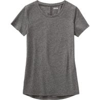 Women's Lightweight Longtail T Slub Scoop Neck BLK