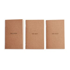 Best Made Good, Bad, Ugly: Set of 3 Notebooks