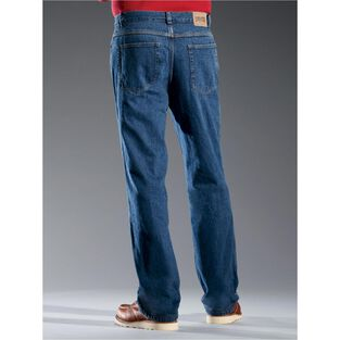 Men's Ballroom Flannel-Lined Jeans