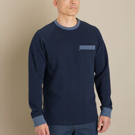 Men's Doubletime Knit Long Sleeve Crew