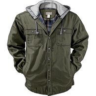 Men's Fire Hose Flannel-Lined Hooded Limber Jac VI