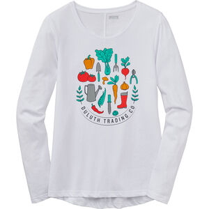 Women's Duluth Trading Long Sleeve Logo T-Shirt