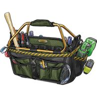 The Arsenal Open Top Tool Bag DEEPEGR